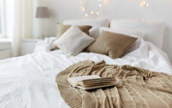 cama cafe con colchon comodo